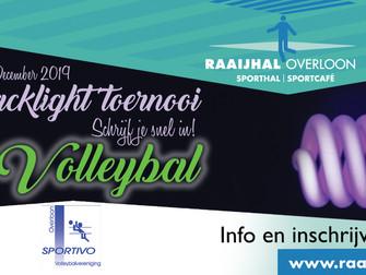 Blacklight Volleybaltoernooi Overloon