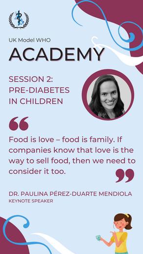 Speaker Session 1: Pre-Diabetes in Children