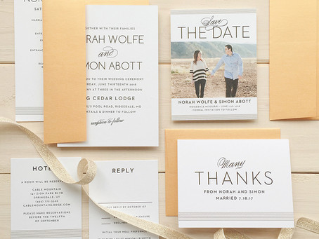 The Value of Customized Invitations and Sign In Books For Your 2021 Wedding