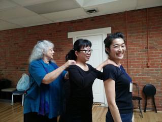 2017 美國銀髮US照護舒適按摩培訓在美國