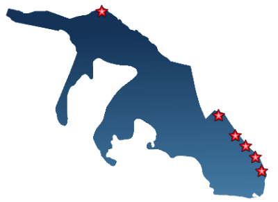 Карта Кайо Гильермо