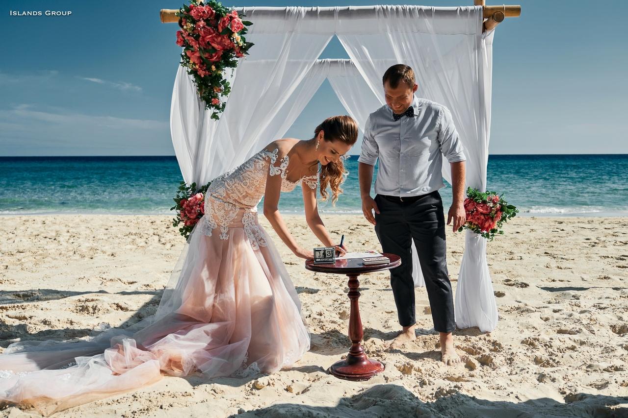 свадебная церемония на варадеро фото туристов ранее