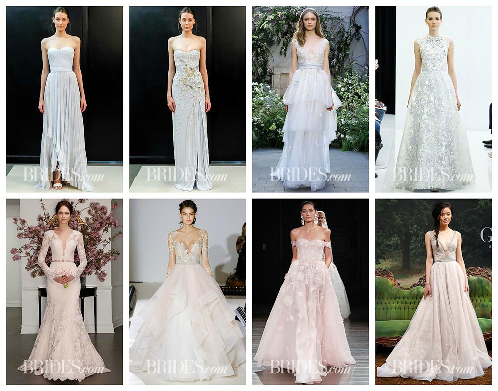 свадебная мода 2017, платье невесты 2017