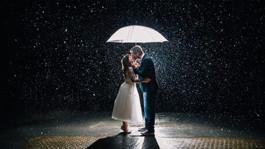 Свадебная фотосессия под дождем