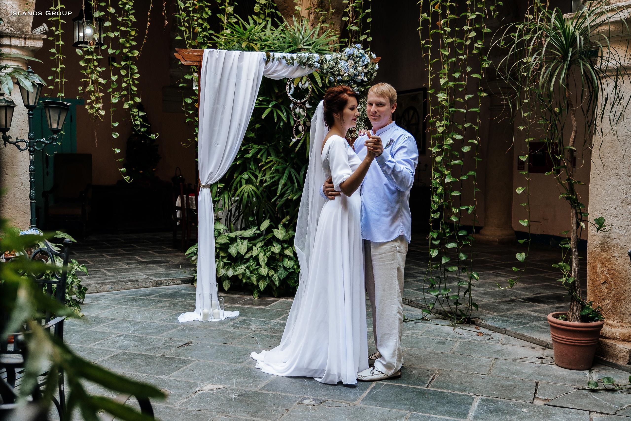 Официальная свадьба в Гаване