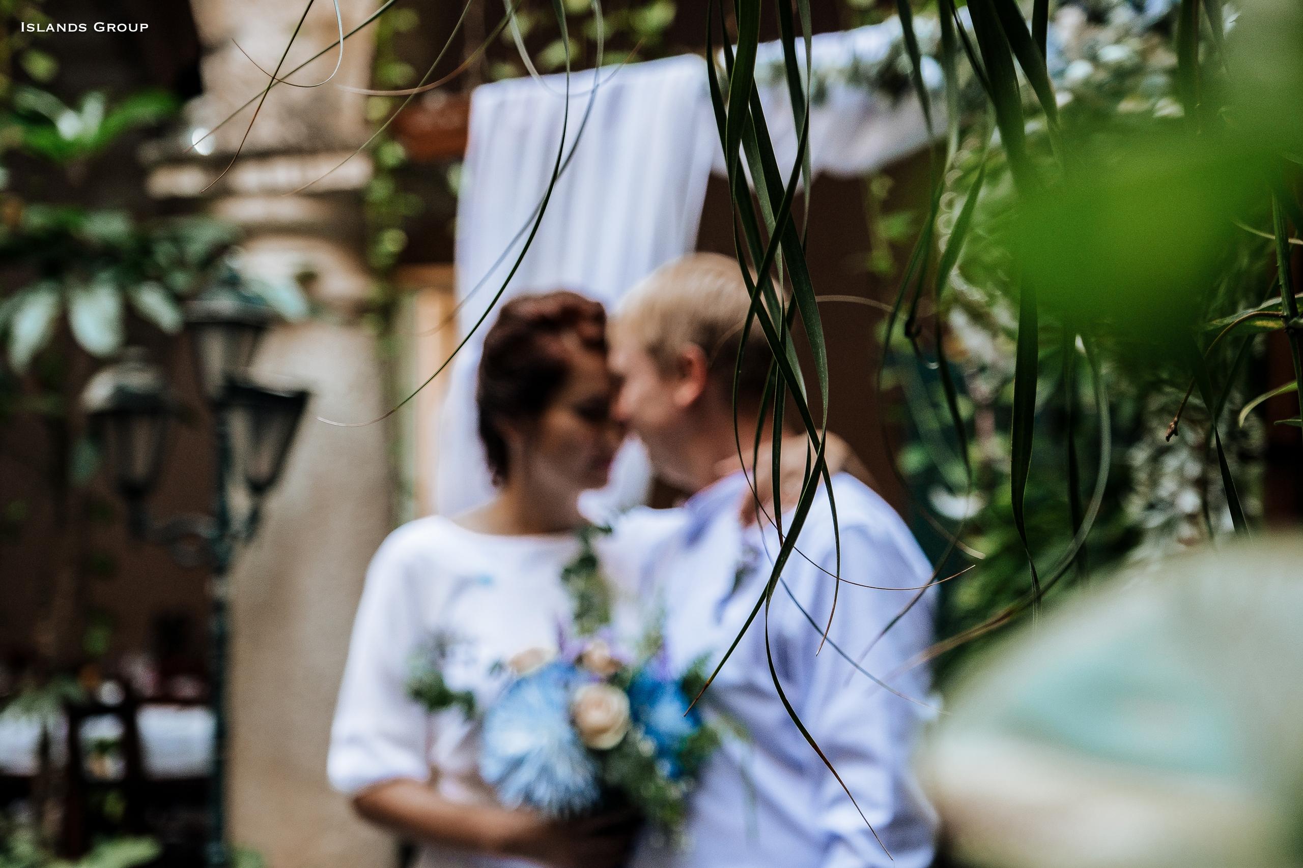 Символическая свадьба в Гаване