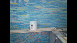 Swimming Pool Install, East Wall