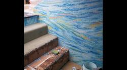 Installing the Glass Mosaics, Steps