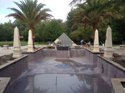 Egyptian Swimming Pool in Progress