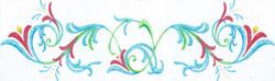 Custom artwork by Agape Tile LLC