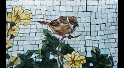Spa Exterior Mosaics, Left Panel 3