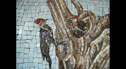Spa Exterior Mosaics, Left Panel 7