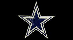 5 FT Blue Cowboy Star Mosaic by Agape Ti
