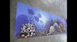 Coral Reef Swimming Pool Mural