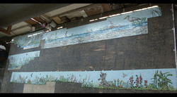 Spa Exterior and Bird Wall