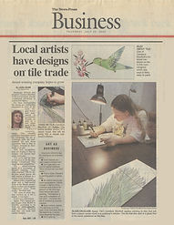 Newspress Agape Tile Local Artists have