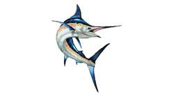 Custom Glass Mosaic Marlin 10mm by Agape
