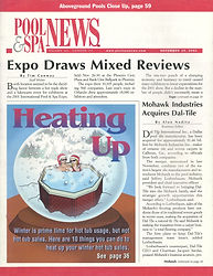 Dec 2001 Pool and Spa News Cover 300 dpi