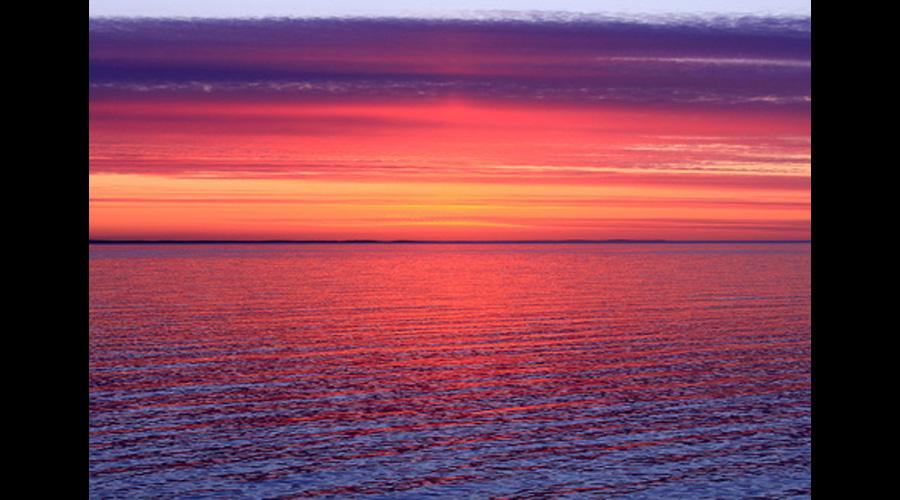 Sunset on the Ocean