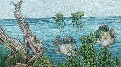 Crappie Fish and Kingfisher