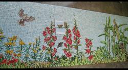 Spa Exterior Mosaics, Left Panel 8
