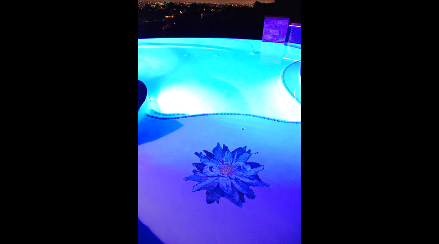 Bloomer Dalia Glass Flower Pool 6