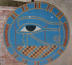 Custom Eye of Ra Mural 78 inches
