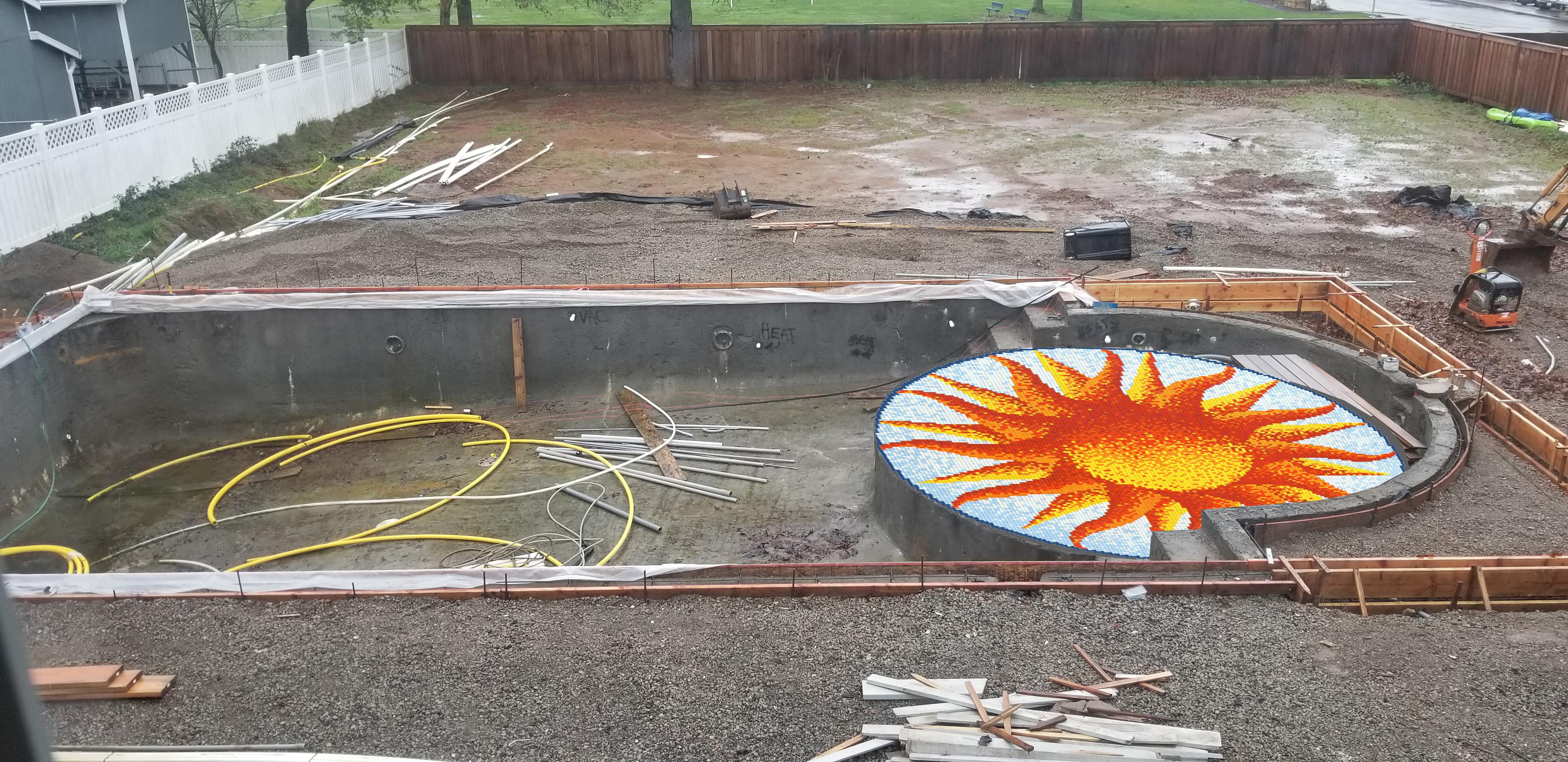 Brockway Sun Pool Shelf