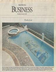 Naples Daily News Agape Tile Work of Art