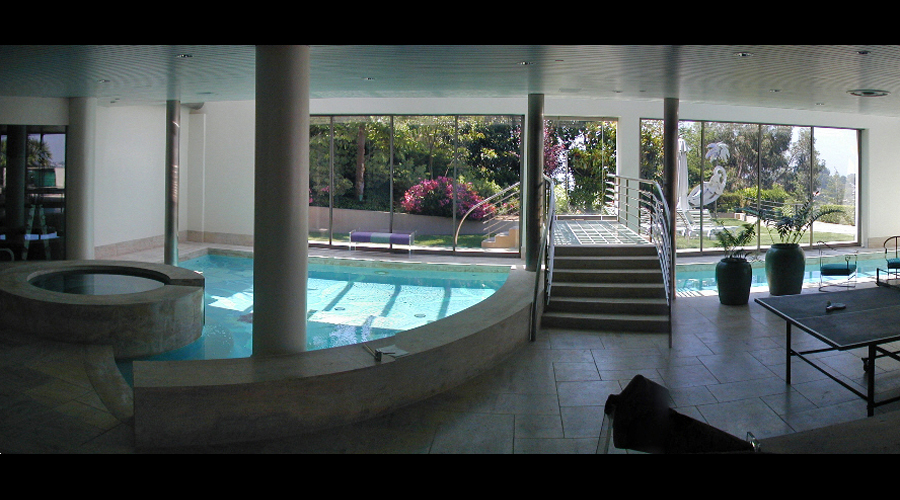 Indoor Lap Pool before Renovation