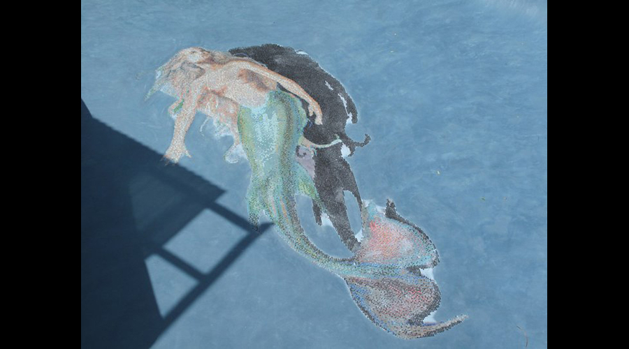 Blue Mermaid Swimming Pool 7