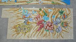 Pool Deep End Glass Mosaics