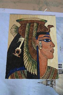 Handcut Stone Cleopatra
