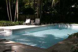 Custom glass greek key waterline swimming pool 4