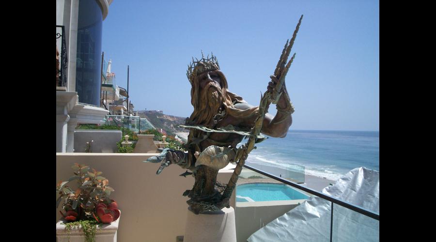 John Soderberg's Neptune Sculpture