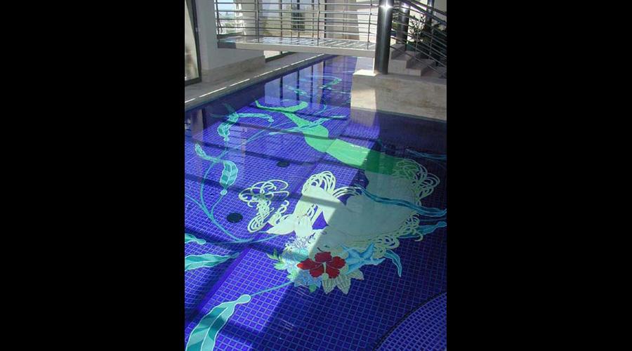 Mermaid Pool with Water