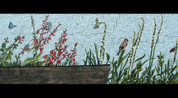 Spa Exterior Mosaics, Left Panel 6
