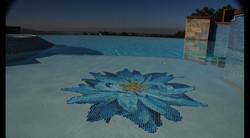 Bloomer Dalia Glass Flower Pool 3