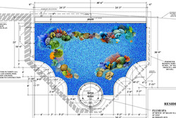 Custom Swimming Pool Rendering