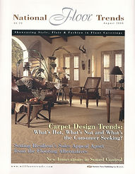 August 2000 National Floor Trends Cover
