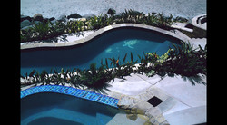 View of the oceanside turtle pool