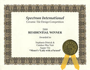 2000 Spectrum Intl Design Award First Pl