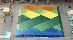 The Lakes of Valparaiso Mosaic 12mm Logo