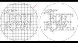 Port Royal Logo layout
