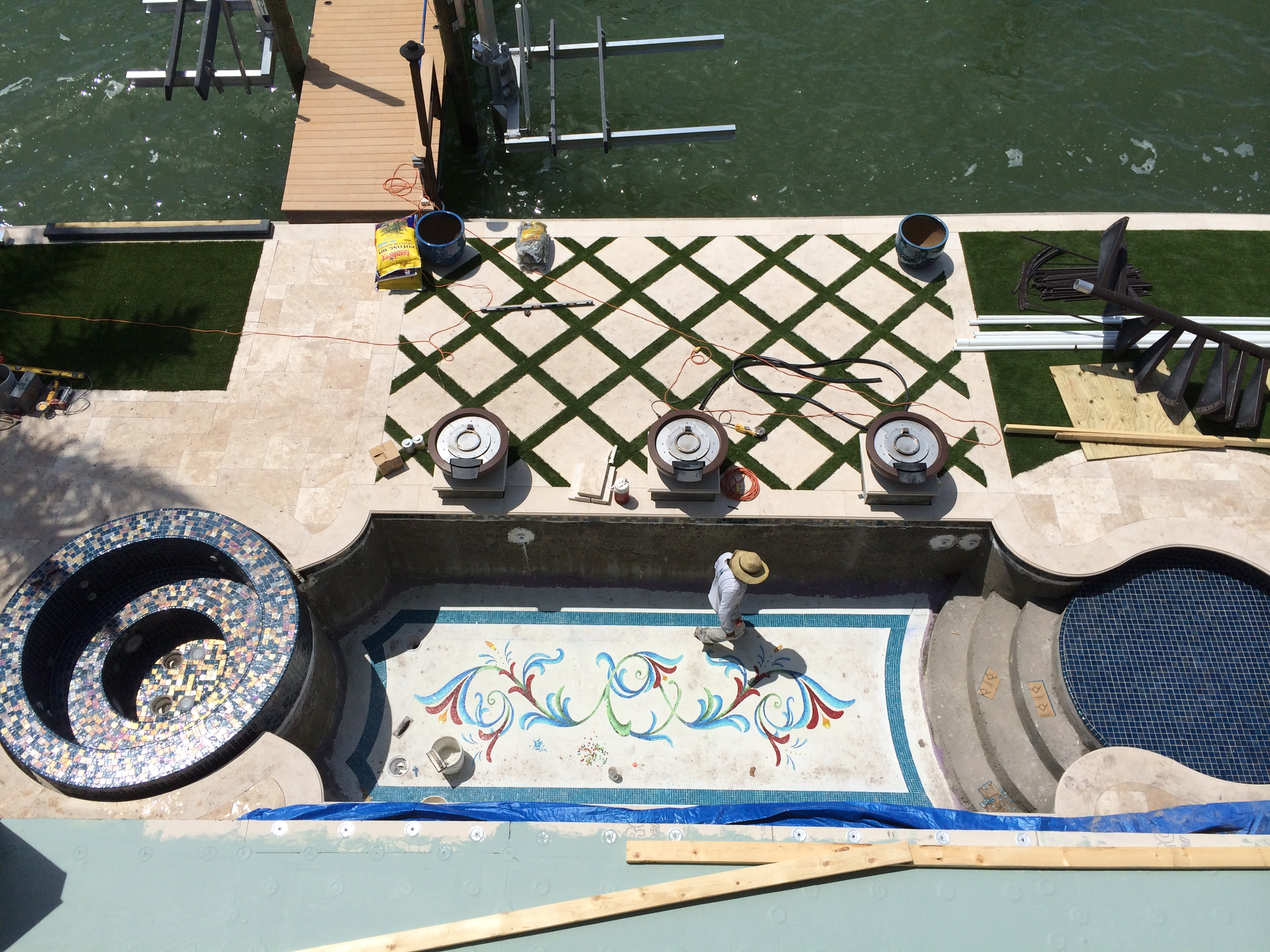 Ryan Hughes Design Furfari Pool