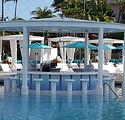 Atlantis Blue Bar Nassau Bahamas 44 ft x