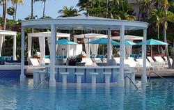 Atlantis Blue Bar Nassau Bahamas 44 ft x 48 in custom gradation