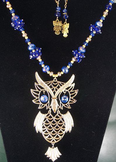 HOOT! Owlin' Around in Blue