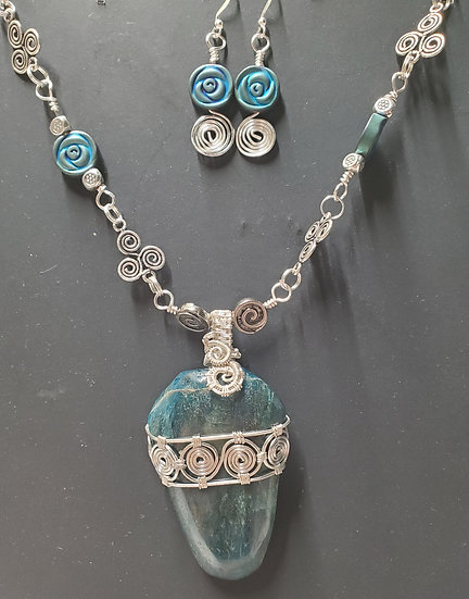 Greek Wrapped Apatite