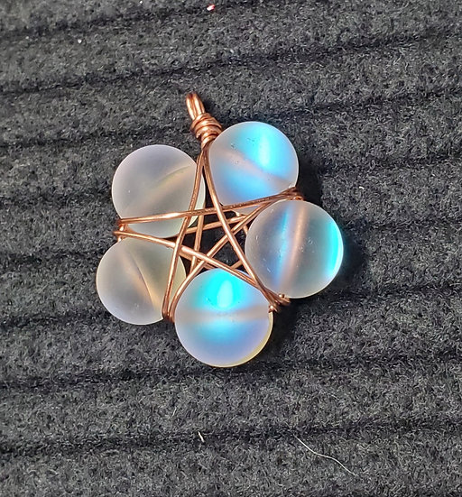 Opalite (synthetic) Starflower